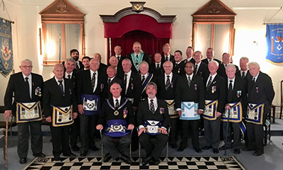 St Andrew Lodge No.4097 - Full House for Festival Jewel