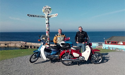 Charity Motorcycle Ride Raises £1400