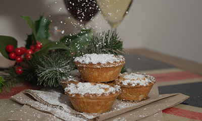 Mince Pie and Wine Reception was popular