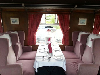 quantock belle dining car