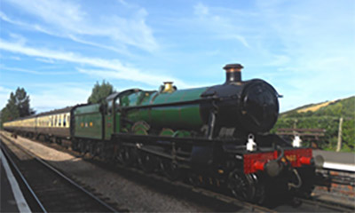 The Quantock Belle on the West Somerset Steam Railway